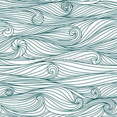 Waves pattern- love this!