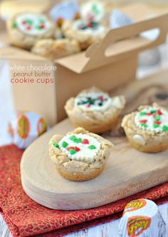 White Chocolate Peanut Butter Cookies - Shugary Sweets