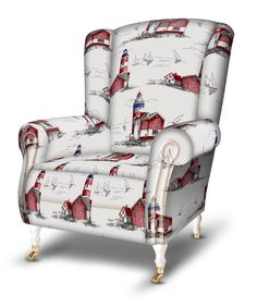 Romantic Times, Armchair, Upholstery, Decorating Ideas, Fabrics, Interior Design, Artist, Furniture, Collection