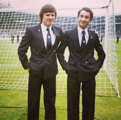 Steve Perryman and Ossie Ardiles Before the 1981 FA Cup Final | Tottenham Hotspur Football Club
