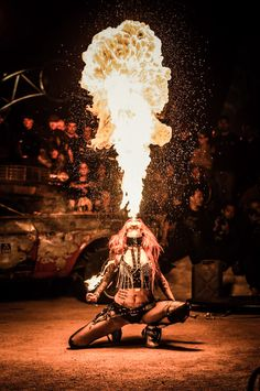 PRINT: Shelly d'Inferno by Lykh'Arts, high quality matte or photo poster Dark Circus, Circus Art, Rick Astley, Ibiza, Cervena Fox, Circus Aesthetic, Claude Van Damme, Fire Dancer, Flow Arts
