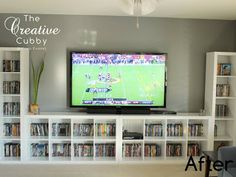 IKEA Expedit Makeover - The Creative Cubby