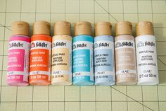 quick tip : making watercolors with inexpensive acrylic paints