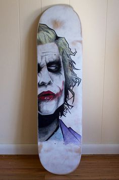 Agent Of Chaos Skateboard Deck by ArtGeekStudios on Etsy, $50.00