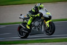 PICS: Valentino Rossi returns to Yamaha