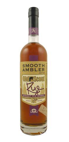 Smooth Ambler Old Scout Rye (batch 39), MGP spirit