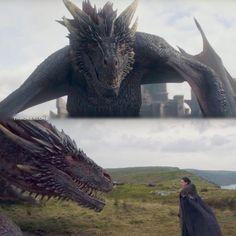 """Polubienia: 163, komentarze: 5 – Game Of Thrones (@throneslore) na Instagramie: """"Jon & Drogon connect"""""""