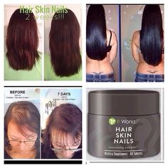 It Works! Hair Skin Nails supplement  www.sarahjwrapsuskinny.myitworks.com