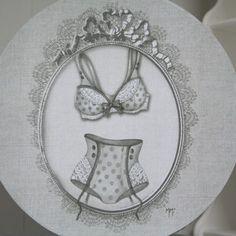 Boîte Mathilde-M Décoration Lingerie Cosydeco.com