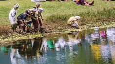 Niños jugando en el lago Bratan Bali. .................................................................................  Podéis seguir mis hashtags #sergiobejar o #vidacallejerafotos ------------------------------------------------------------------------------  #indonesia #Bali #travel #traveling #vacation #instatravel #trip #holiday #fun #mytravelgram  #igtravel #yourshotphotographer #tourism #instapassport