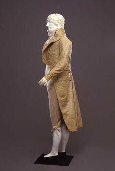 Marsina maschile | Identifier 00000122 | Temporal keyword Fine del XVIII sec. | Creator Manifattura italiana, Roma | Galleria del Costume di Palazzo Pitti