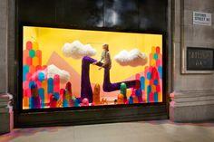 Selfridges Window Displays - info@studiograbdown.com