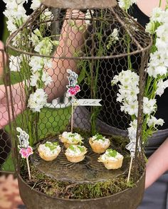 WHO STOLE THE TARTS? ❤️ Themed and beautifully presented catering take party food to a whole new level!