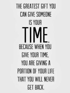 my love language: quality time! …this quote nails it