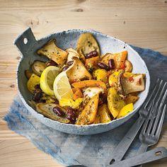 """Ingwer-Paprika-Bowl - """"Mit Chili ist dieses Rezept bestens für den Winter geeignet, denn so heizt es uns an kalten Tagen richtig ein. Frischer Ingwer und Zitrone liefern zusätzlich Vitamine."""""""