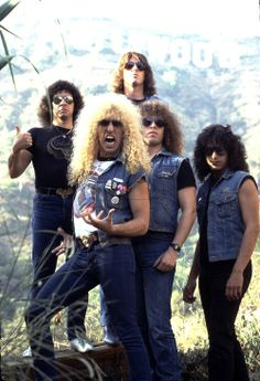 """Hipster-fag wannabes say """"Twisted Sister isn't a Glam Metal band"""". Twisted Sister themselves say """"FUCK YOU HIPSTER SCUM""""!!!"""