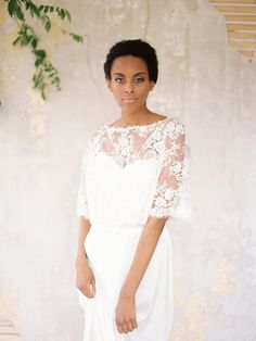 #Wedding dress from the Chaviano Couture 2015 collection. Image by Lauren Kinsey. #bride #bridal