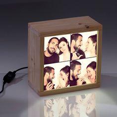 El regalo más original de #SanValentin. Imagínate regalarle una lightbox con un montaje de fotos super divertido, entrañable, inolvidable, ..…. Pues manos a la obra. Tu eliges la foto y nosotros creamos la caja de luz con ella. Seguro que triunfas !!!!!!!