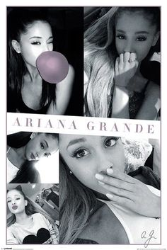 Ariana Grande - Selfies - Official Poster