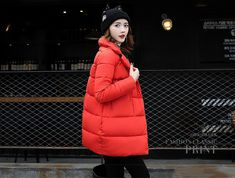 US $39.85 Fashionable Slim Thick Warm Winter Jacket Women Turn-down Collar Coat Down Parkas Female Outerwear CRRIFLZ New Winter Collection