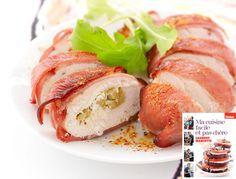 Chaussons de poulet au chèvre et au baconhttp://www.femmeactuelle.fr/cuisine/recettes/chaussons-de-poulet-au-chevre-et-au-bacon