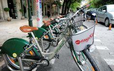 EasyBike Corfu bike sharing system