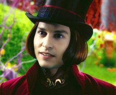 JD as Willy Wonka