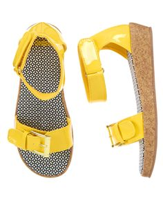 Patent Wedge Sandals at Gymboree