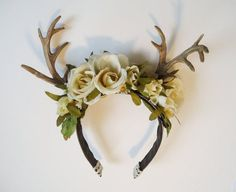 Antler head band