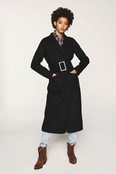 Manteau femme tweed chevrons, IMMER SOMEWHERE