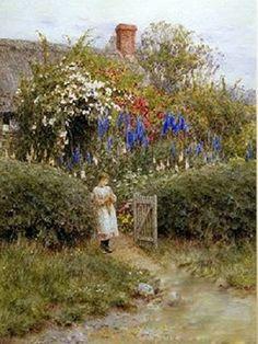 honhongyu's @rt collection: Helen Allingham 英國女水彩畫家 (1848 – 1926)