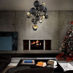 Luminária Atomic, da Delightfull. #design #luminárias #formas #lamps #shapes #iluminação #lighting #lightingdesign #lamp #interior #interiores #artes #arts #art #arte #decor #decoração #architecturelover #architecture #arquitetura #projetocompartilhar #davidguerra #shareproject #luminariaatomic #atomiclamp #delightfull