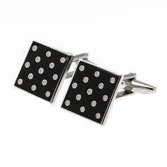 From the Imperial War Museum Online Shop: polka dot cufflinks.