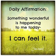 Daily #Affirmation