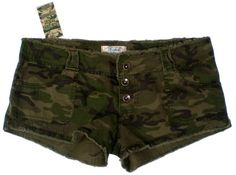 Army Fatigue Booty Shorts for Women   Army Girl Camo Shorts, Mini Shorts, Booty Shorts and Cute Shorts
