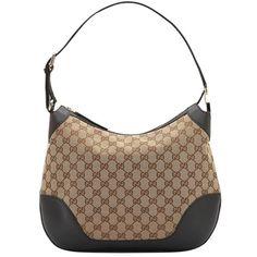 Gucci Charlotte Medium Hobo 211810 Beige