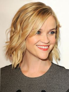 Create Reese Witherspoon's unfussy waves with these expert how-tos. #hair