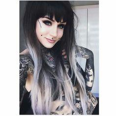 Get Inspired by tattoo girls Dimple Piercing, Cheek Piercings, Monami Frost, Hot Tattoos, Girl Tattoos, Asian Tattoos, Flower Tattoos, Small Tattoos, Lush Wigs
