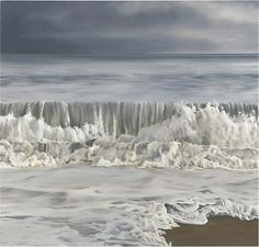 Sea After Storm, 2010 oil on linen 74 x 77-1/2 inches
