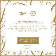 tyrsa Sale Poster, Paris, Graphic Design, Montmartre Paris, Paris France, Visual Communication
