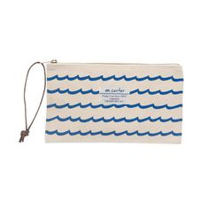 My design inspiration: Wave Stripe Pouch on Fab.