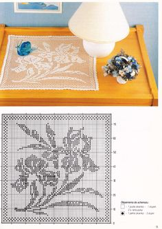 Iris Filet Crochet