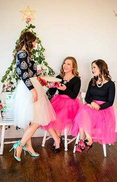 """""""Will You Be My Bridesmaid"""" Christmas Party - Inspired By This"""
