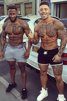 Legal anabolic steroids will give you muscle you always wanted. Black Men Tattoos, Black People Tattoos, Hot Guys Tattoos, Gorgeous Black Men, Handsome Black Men, Beautiful Men, Bodybuilding Tattoo, Black Muscle Men, Sexy Tattooed Men