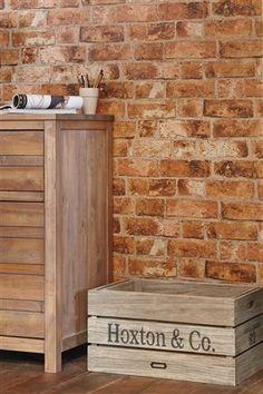 Bricks wallpaper from Next