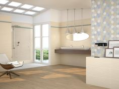 Our #DecoIguazú perfectly combines with our #BrazilMate coating and our #DColor floor.