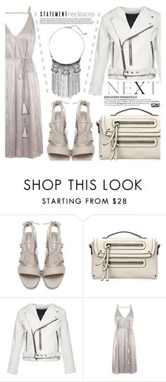 """""""StyleToday"""" by eclectic-chic ❤ liked on Polyvore featuring Marc Jacobs, Topshop, statementnecklaces and yoins"""