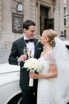 Newlywed celebration: http://www.stylemepretty.com/new-york-weddings/new-york-city/2016/08/29/timeless-nyc-ballroom-wedding/ Photography: Ashley Bartoletti - http://ashleybartoletti.com/
