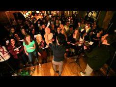 choir! choir! choir! sings Pat Benatar - We Belong (intro from songwriter Dan Navarro) - YouTube