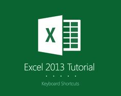 http://www.bendaggers.com/keyboard-shortcuts-in-excel-shortcut/ - Welcome to the first edition of Excel Tutorial!   As part of my series blog Excel Tutorials, I will first share to you the list of Microsoft Excel Shortcuts.   Microsoft Excel is constantly evolving beyond its previous version, with more great features being added every time Microsoft Excel gets updated.